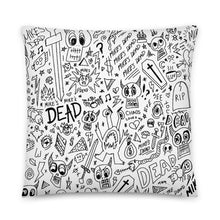 Load image into Gallery viewer, All Over Print Pillow (White)