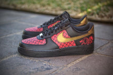 Load image into Gallery viewer, Dragon ' Scaled Beauties' Air Force 1's - Khameleon Kickz