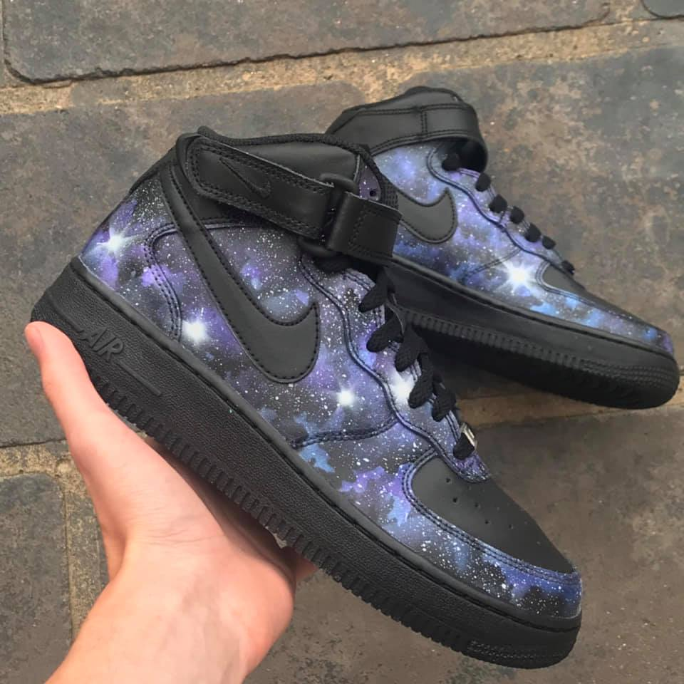Galaxy Air Force 1 Mid - Khameleon Kickz