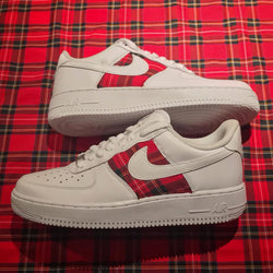 Air Force 1 'Flannel' Custom Sneakers - Khameleon Kickz