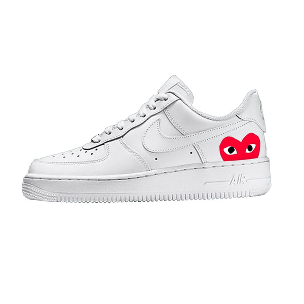 Air Force 1 CDG Heart - Khameleon Kickz