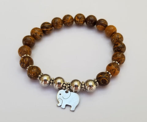 Energy Gems Elephant Strength Bracelet