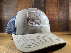 "Longbow Roasters  ""Bean Shooter"" Hat"