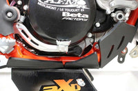 AXP Racing Beta 300RR|250RR (14-17) Xtrem Skid Plate with Linkage Guard Black