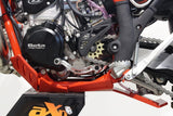 AXP Racing Beta 300RR|250RR (18-19) Xtrem Skid Plate with Linkage Guard Red