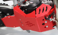 AXP Racing Beta 300RR|250RR (20-) Xtrem Skid Plate with Linkage Guard Red