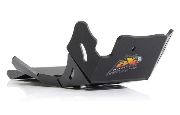 AXP Racing Beta 200RR|125RR (20-) Xtrem Skid Plate with Linkage Guard Black