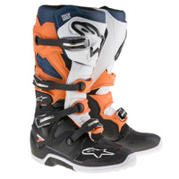 Alpinestars Tech 7 Black/Orange/White/Blue Boot