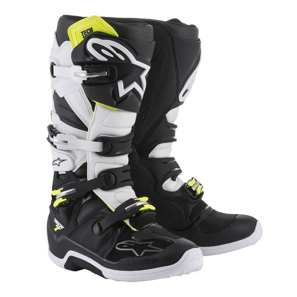 Alpinestars Tech 7 Black/White Boot