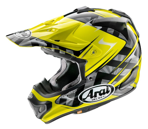 Arai VX-Pro4 Scoop Yellow Helmet