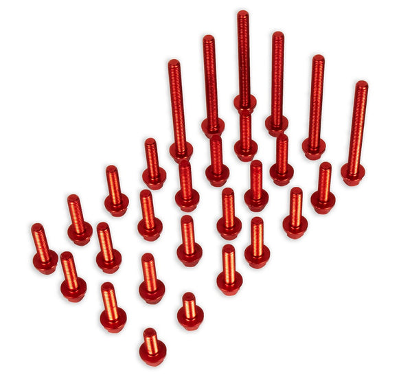 Beta 4-stroke (20-) Red Aluminum Engine Bolt Kit
