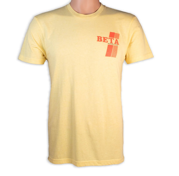 Beta Motor Retro T-Shirt Retro Yellow