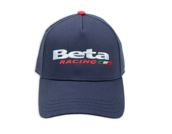 Beta Racing Navy Snap Back Hat