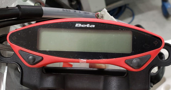 Beta 4-stroke Race Edition (2020) Speedometer