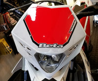 Beta Headlight Mask White