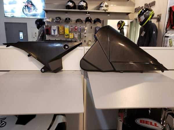 Beta Airbox Cover Set Black (Late)
