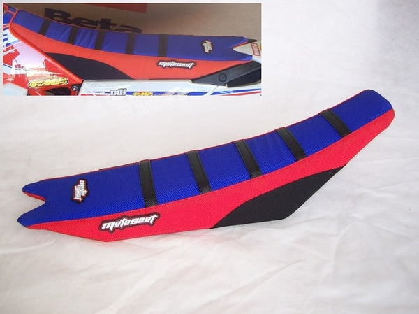 Beta Racing Red/Blue Seat Cover