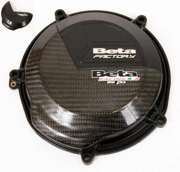 P3 Beta 2-stroke (18-) CF Clutch Cover Guard