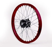 Beta Dubya USA XTrainer Black/Red Wheel Set