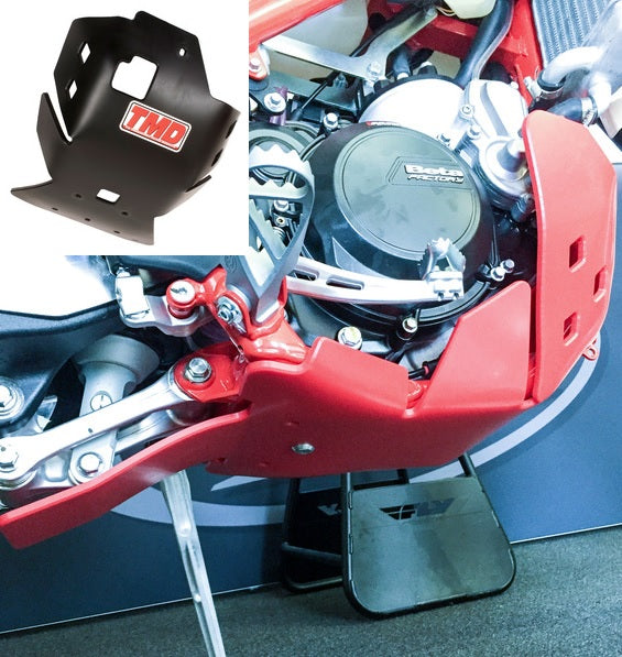TM Designworks Beta XTrainer Plastic Skid Plate with Linkage Gua
