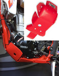 TM Designworks Beta 4-stroke Plastic Skid Plate with Linkage Gua
