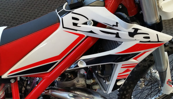 Beta XTrainer Radiator Shroud Set White