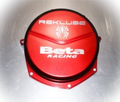 Beta 4-stroke (10-17) Rekluse Red Clutch Cover