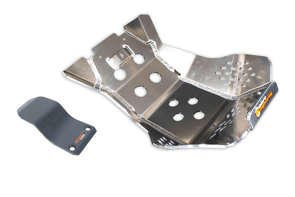 Enduro Engineering Beta 4-stroke (20-) Aluminum Skid Plate with Linkage Guard