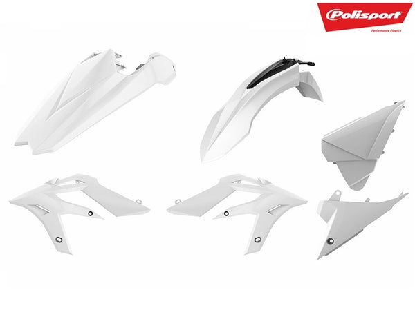 Polisport Beta RR (18-) Plastics Kit White