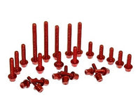 Boano Beta 2-stroke Red Aluminum Engine Bolt Kit