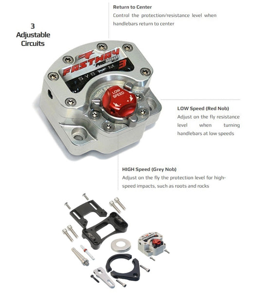 Fastway Beta System 3 Steering Stabilizer Kit