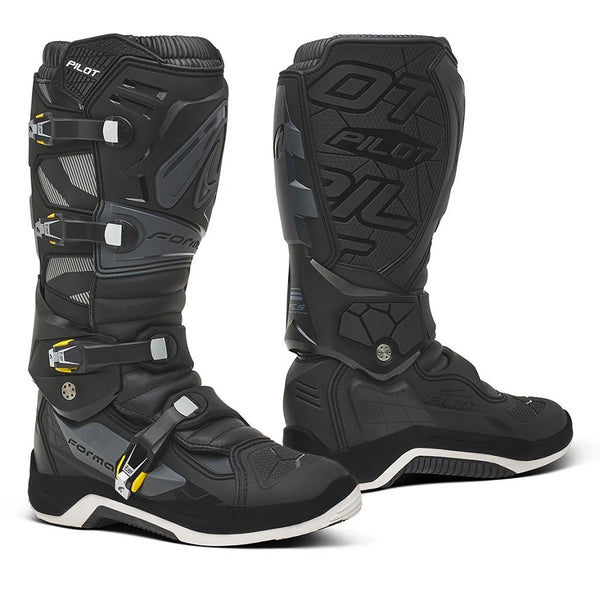 Forma Pilot Black/Anthracite Boots
