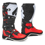 Forma Pilot White/Red Boots