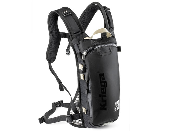 Kriega Hydro-3 Enduro Hydration Pack
