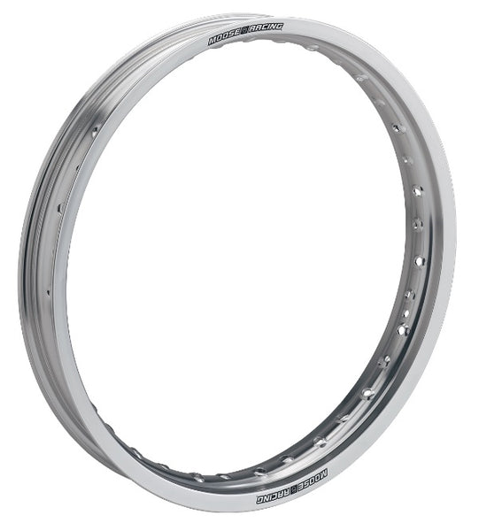 Moose Racing Beta Front Rim Silver