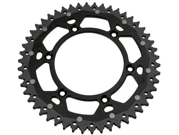 Moose Racing Beta Dual Sprocket - Black