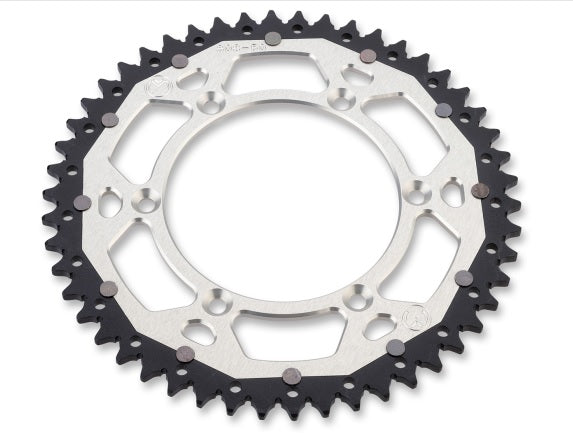 Moose Racing Beta Dual Sprocket (Early) - Silver