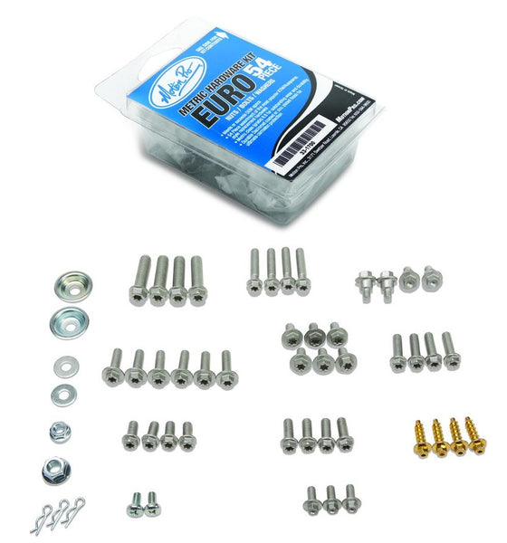 Motion Pro 54 pc. Euro Hardware Kit