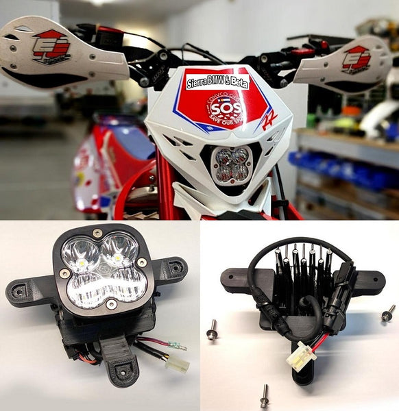 MotoMinded Beta LED Squadron Sport Headlight Kit (Carb)