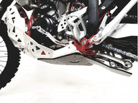 P-Tech Beta 300RR|250RR (20-) Aluminum Skid Plate with Pipe & Linkage Guard
