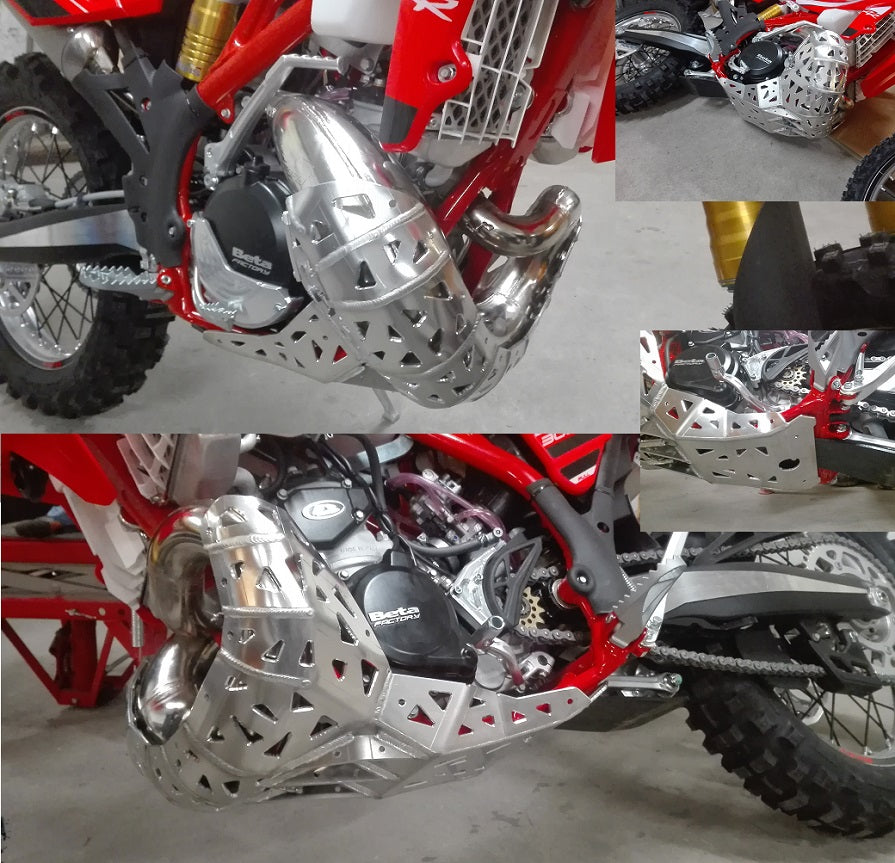 250RR (13-18) Aluminum Skid Plate With