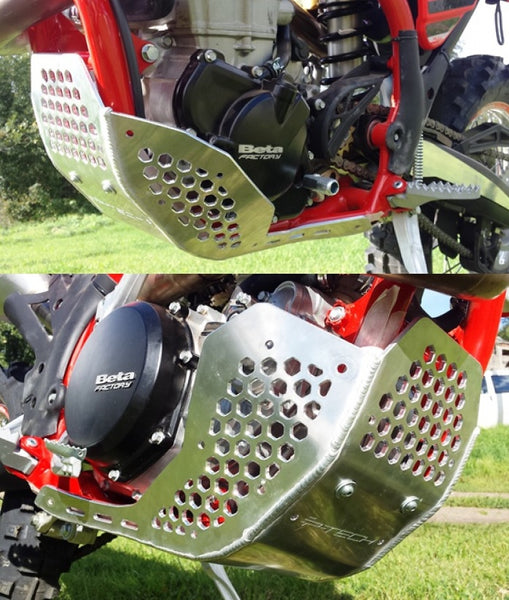 P-Tech Beta 4-stroke Aluminum Skid Plate
