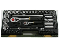 "Proxxon 65-piece 1/4"" and 1/2"" Drive Tool Set"