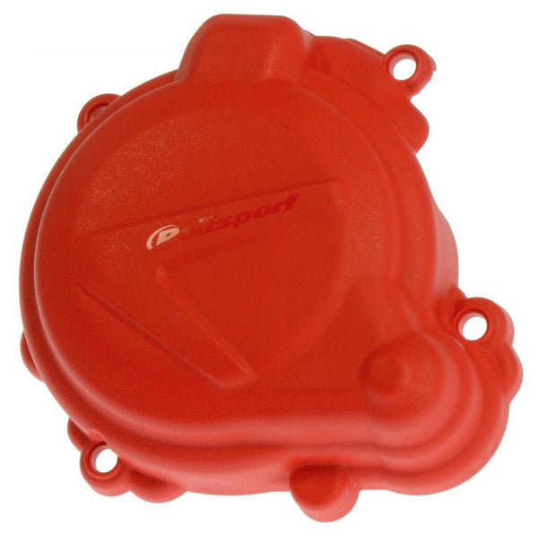 Polisport Beta 2-stroke Ignition Cover Guard Red