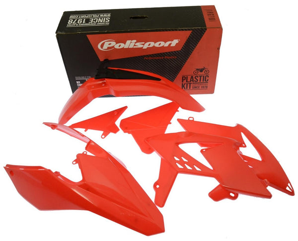 Polisport Beta RR|RS Plastics Kit Red