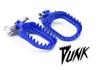 S3 Beta RR|RS|RR-S (13-19), XTrainer Punk Steel Footpegs Blue