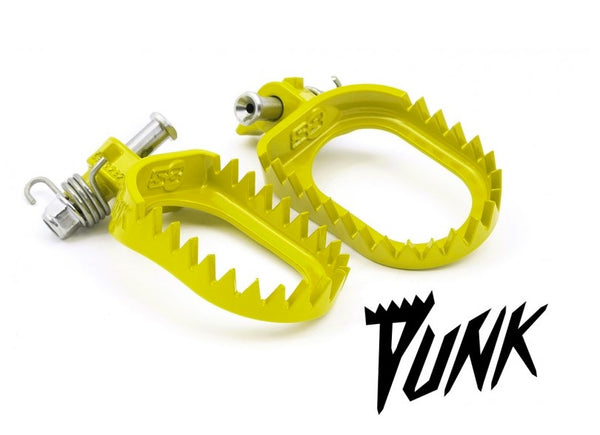 S3 Beta RR|RS|RR-S (13-19), XTrainer Punk Steel Footpegs Flo Yellow