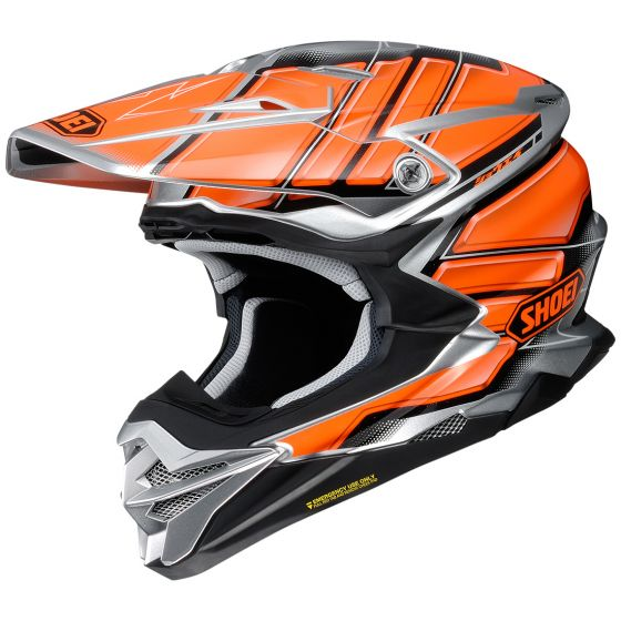 Shoei VFX-Evo Glaive Black-Orange Helmet