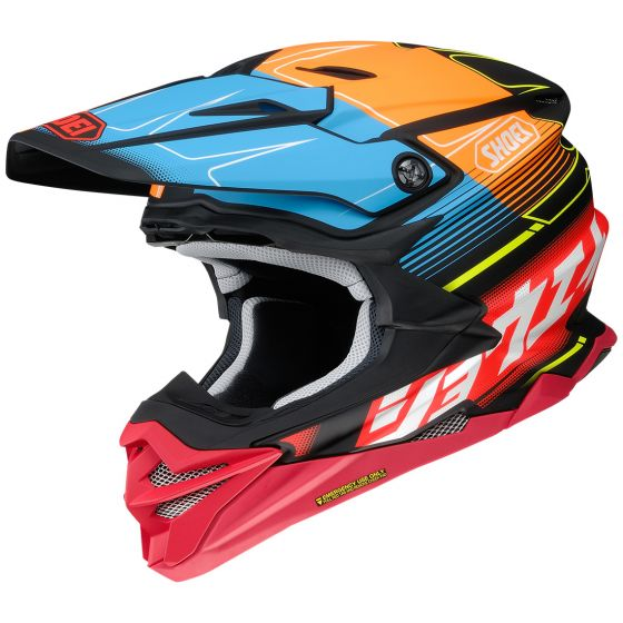 Shoei VFX-Evo Zinger Black-Red Helmet