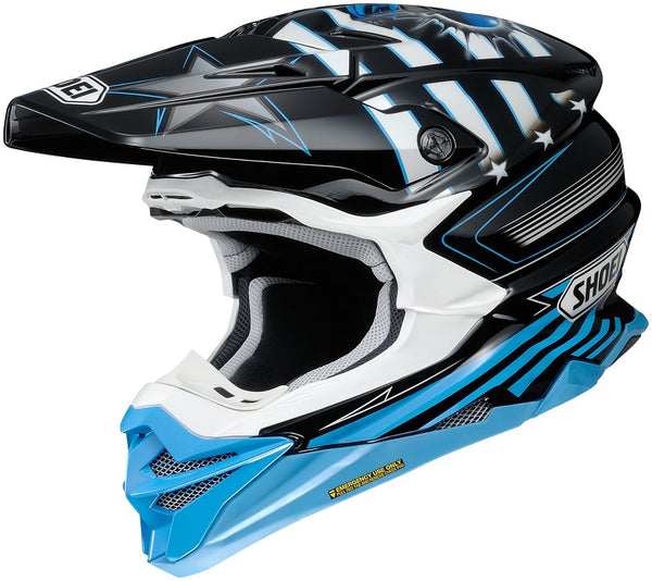Shoei VFX-Evo Grant Black/Blue Helmet